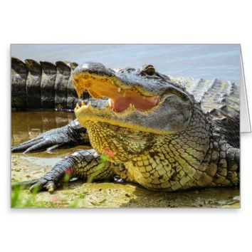 Face to face greeting card