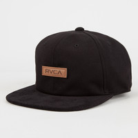 Rvca Caught Up Mens Snapback Hat Black One Size For Men 26744910001