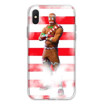 FORTNITE MERRY MARAUDER STRIPES CUSTOM IPHONE CASE