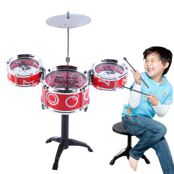 Children Kids Educational Toy Rock Drums Simulation Musical Instruments new arrival