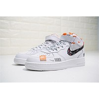 Just Do It Nike Air Force 1 Mid Aq8650 100   Best Deal Online