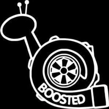 Turbo Boosted Vinyl Car Decal