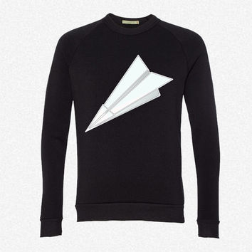 Paper Planes 6 fleece crewneck sweatshirt