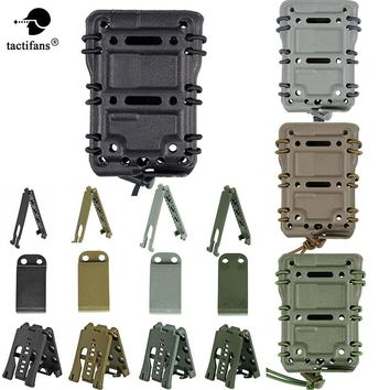 TACTIFANS Scorpion 5.56 Tactical Magazine Pouch Ambidextrous Modular Rifle Military Fast Mag Pouch Belt Molle Mount Airsoft MG26