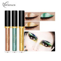 3pcs/lot Brand Waterproof Metallic Glitter Liquid Eyeshadow Makeup Set Shimmer Pigments Eye Shadow Kits for Halloween As a Gift