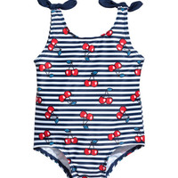 Swimsuit with Bows - from H&M