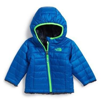 The North Face Infant Boy's 'Mossbud Swirl' Reversible Water Repellent Jacket,