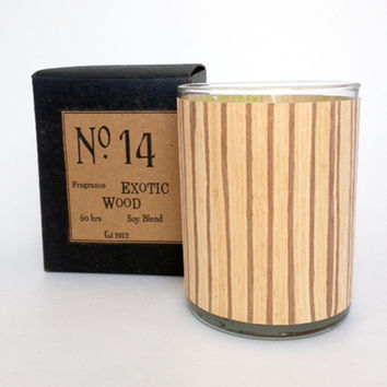 Exotic Wood Candle No. 14