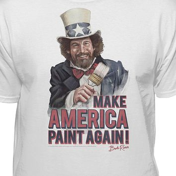 Bob Ross Make America Paint Again Uncle Bob T-shirt
