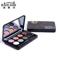 baolishi 8 color matte best natural smokey eyeshadow  palette urban naked glitter shimmer eye shadow brand makeup cosmetics