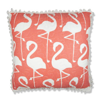 Elise & James Home™ Flamingo Square Decorative Pillow