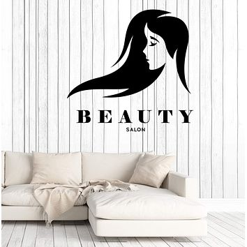 Wall Stickers Vinyl Decal Hair Style Beauty Salon Woman Beauty Decor  Unique Gift z4747
