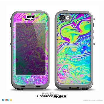 The Neon Color Fushion Skin for the iPhone 5c nüüd LifeProof Case