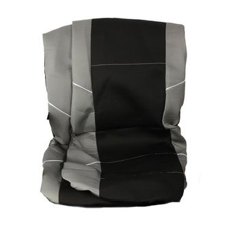 Universal Front Car Seat Cover Inc Head Rest Washable Airbag Safe