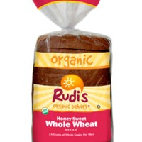 Rudis: Organic Bakery Organic Honey Sweet Whole Wheat Sandwich Bread, 22 Oz