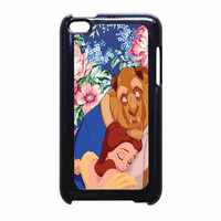 Beauty And The Beast Floral Vintage iPod Touch 4th Generation Case