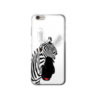 P0883 Hello Zebra Case Cover For IPHONE 6