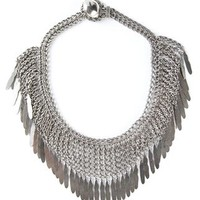 Saint Laurent 'plume' Fringe Necklace - Ottodisanpietro - Farfetch.com