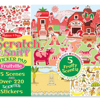 Melissa and Doug Scratch & Sniff Fruitville 2193