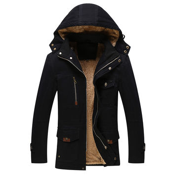 RAVEN Men's Hooded Jacket