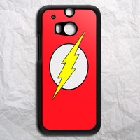 Superhero Flash HTC One M8 Case