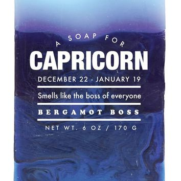 Capricorn Bergamot Boss Scented Soap - Smells Like the Boss of Everyone
