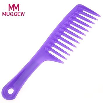 Professional Salon Use Hair Styling 1 PC Hair Salon Plastic Comb Assorted Colors 2*