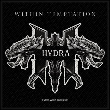Within Temptation Men's Hydra Woven Patch Black