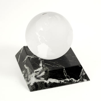 Marble Paperweight, Globe