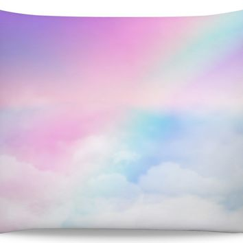 ROB Pastel Clouds Pillowcase