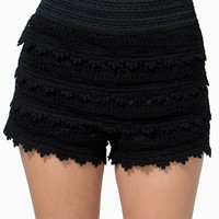 Sweet Tiers Crochet Short