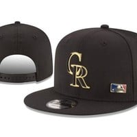 new arrival new era black cap mlb baseball fitted hat-18