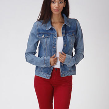 Denim Button Up Jacket
