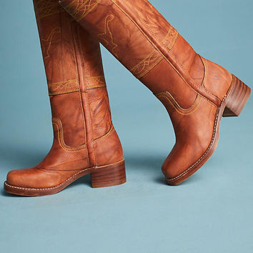 Frye Stitched Campus Boots