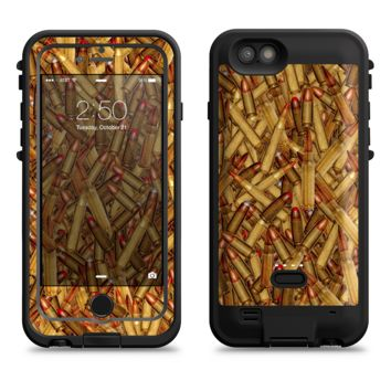 The Bullets Overlay  iPhone 6/6s Plus LifeProof Fre POWER Case Skin Kit