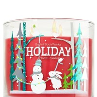 3-Wick Candle Holiday