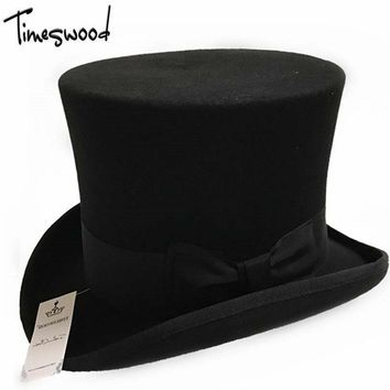 Men Chapeau Fedora Felt Vintage Hat For Synagogue S M L Xl