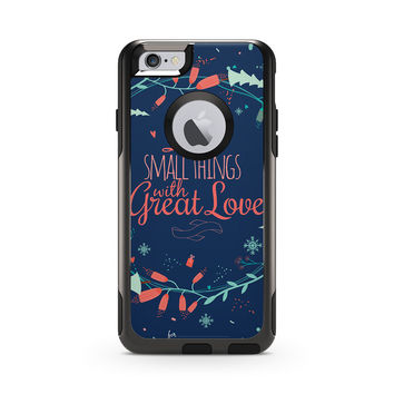 Do the Small Thing with Great Love Skin for the Apple iPhone Otterbox Commuter Case