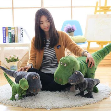 New 40/55/70cm Dinosaur Plush Toys Hobbies Cartoon Tyrannosaurus Stuffed Toy Doll for Children Boys Baby Birthday Christmas Gift