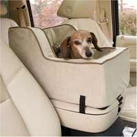 Luxury High Back Console Pet Car Seat - Extra Large