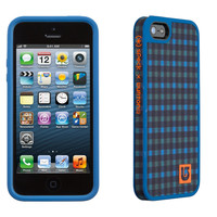 Speck Fab Shell Burton Design Case For I Phone 5/5 S Ballpoint Reid Plaid/Harbor