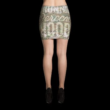 Desert Camo Mini Skirt