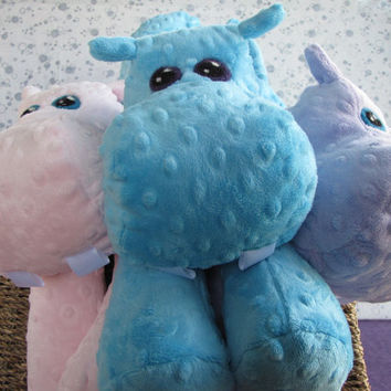 Hippo STUFFED ANIMAL Sewing Pattern