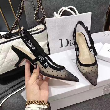 ONETOW Christian Dior Fashion Heels Shoes Dior jadore