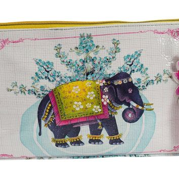 Festival Elephant Art Design Medium Make-up or Accessory Travel Bag