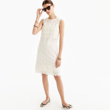 Tiered eyelet dress