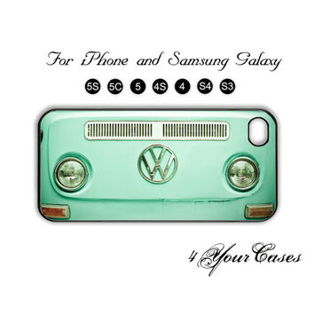 Volkswagen,Vintage Mini Bus,iPhone 5 case,iPhone 5C,iPhone 5S,Samsung Galaxy S3, Samsung Galaxy S4 Phone case,iPhone 4/ 4S Case