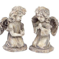 4 Angel Figures - Inside Or Outside Use