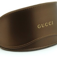 Gucci Oversized Glasses Sunglasses Case w/Cleaning Cloth, Extra Large