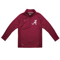 Nike Alabama Crimson Tide Dri-FIT Performance Fleece Pullover - Boys 8-20